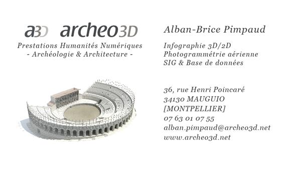 Contact Archeo3D O Reconstitution De Sites Et Monuments