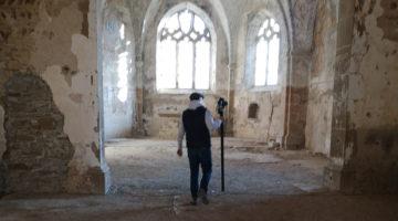 Chantier de numérisation au prieuré de Charrière