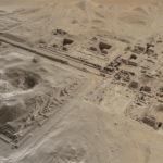 Vue aérienne 3D du complexe funéraire de Pépi Ier, Saqqara