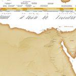 Carte et chronologie de l'Egypte ancienne