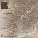 Plan de la vallée des Rois