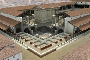 Forum de Lutèce, éclaté