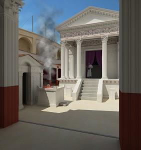 Temple d'Isis, Pompéi
