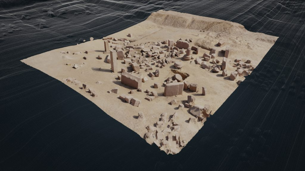 Tanis, sanctuaire d'Amon